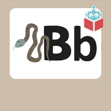 Alfabetrim med b