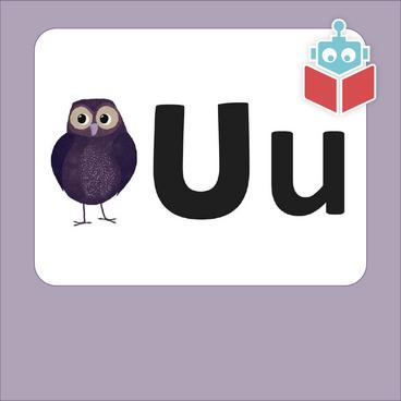 Alfabetrim med u